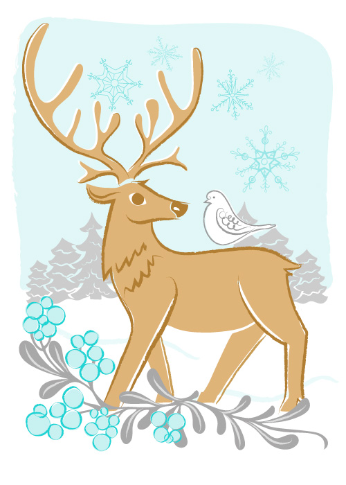 CARD_REINDEER_GOLD