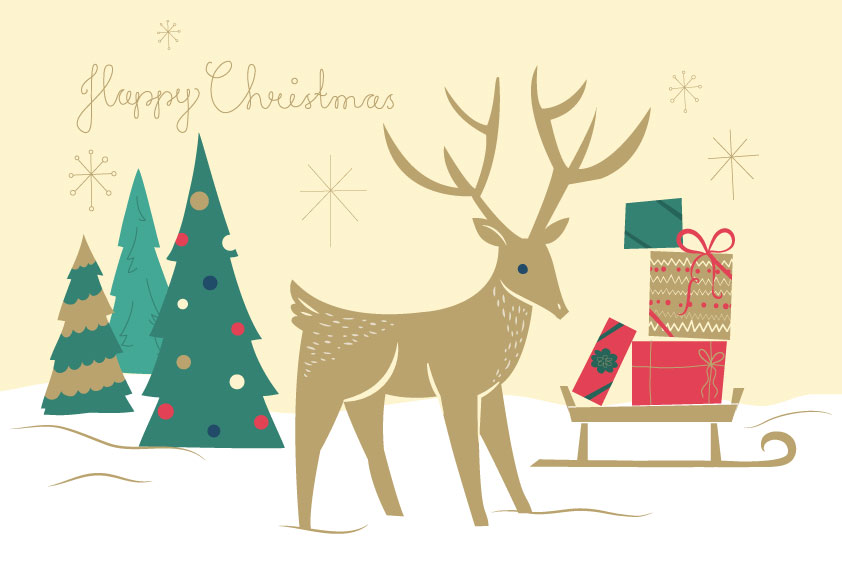 CHRISTMAS_REINDEER_ICONS_CARD