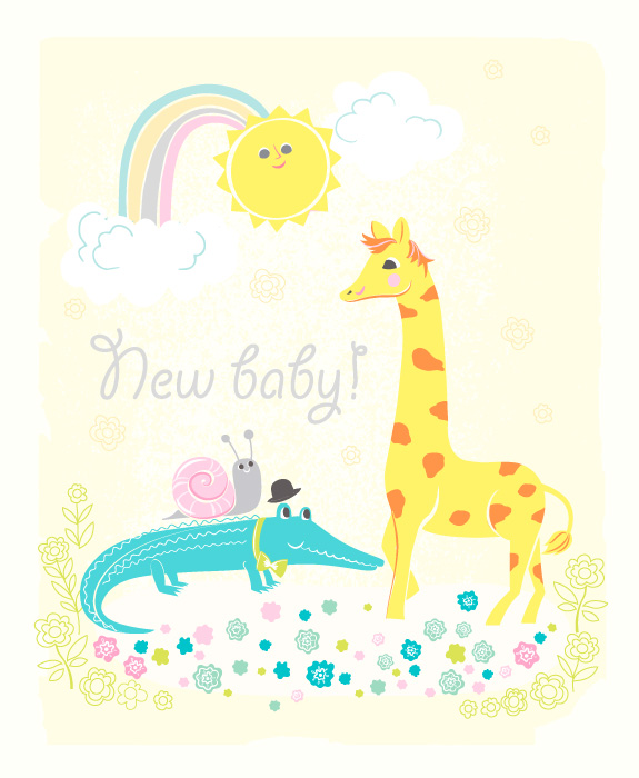 NEWBABY_ANIMALS_CARD