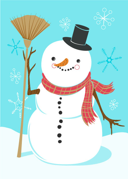 SNOWMAN_BROOM_CARD